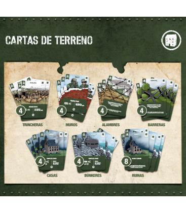 2GM Tactics: Pack Tapete + 2 Mazos de Cartas de Terreno