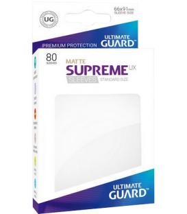 Fundas Ultimate Guard (66x91mm) SUPREME MATTE UX - Blanco (80)