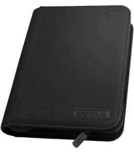 Álbum Mini American Zipfolio 9-Pocket Negro - Ultimate Guard
