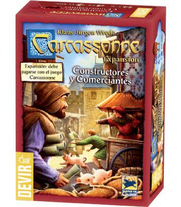 Carcassonne 2015: Constructores y Comerciantes