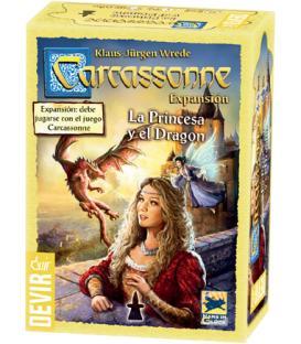 Carcassonne 2015: La Princesa y el Dragón