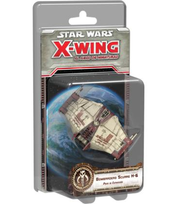 Star Wars X-Wing: Bombardero Scurrg H-6
