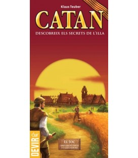 Catan (Edició en Català - Ampliació per a 5 i 6 Jugadors)