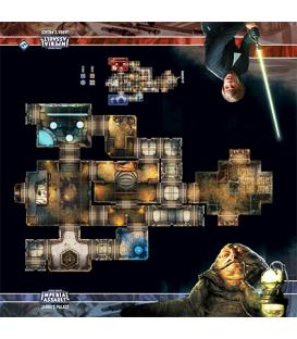 Star Wars Imperial Assault: Tablero de Escaramuza del Palacio de Jabba