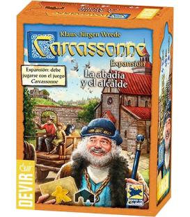 Carcassonne 2015: La Abadía y el Alcalde