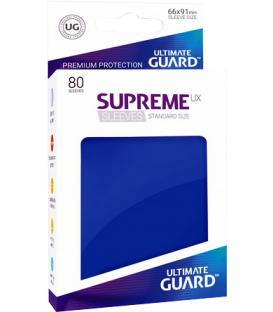 Fundas Ultimate Guard (66x91mm) SUPREME MATTE UX - Azul (80)