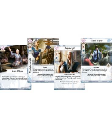 La Leyenda de los Cinco Anillos: El Juego de Cartas