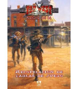 Far West: Pantalla del DJ