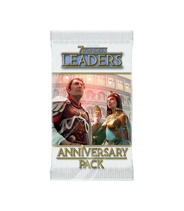 7 Wonders Leaders: Pack Aniversario