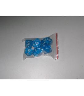 Bolsa 7 Dados: Gema Azul