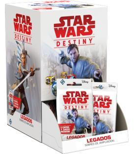 Star Wars Destiny: Legados (Expositor con 36 Sobres de Ampliación)