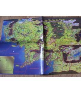 Mapa de Regiones en Inglés