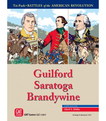 Tri-Pack: Battles of the American Revolution - Guilford, Saratoga, Brandywine (Inglés)