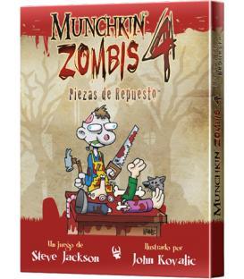 Munchkin Zombies 4: Piezas de Repuesto