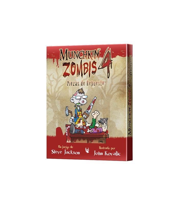Munchkin zombies 4 piezas de repuesto mathom for Piezas de repuesto