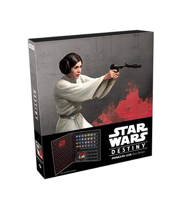 Star Wars Destiny: Carpeta para Dados Princesa Leia
