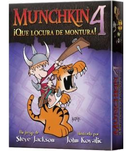 Munchkin 4: ¡Qué Locura de Montura!