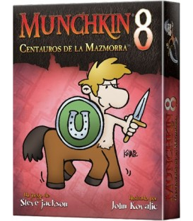 PREVENTA! Munchkin 8: Centauros de la Mazmorra