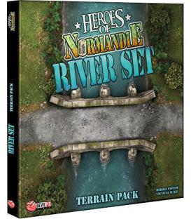 Heroes of Normandie: River Set Terrain Pack