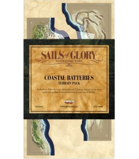 Sails of Glory: Baterías Costeras (Terrain Pack)