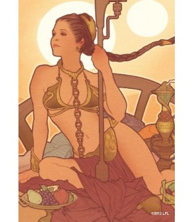 Fundas Ilustradas Princess Leia (TM)