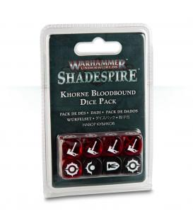 Shadespire: Pack de Dados Khorne Bloodbound