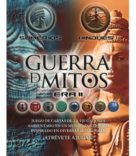 Guerra de Mitos 6: Sumerios e Hindúes + 3 Promos