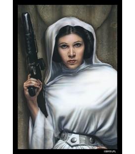 Fundas Ilustradas Princess Leia