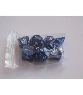 Bolsa 7 Dados: Mármol Azul