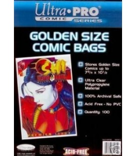 Ultra Pro Golden Size Comic Bags