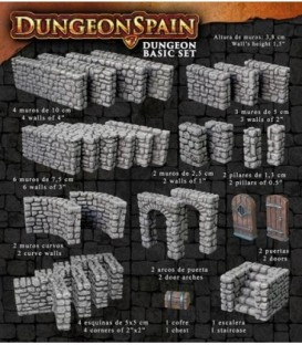 Dungeon Spain: Set Básico