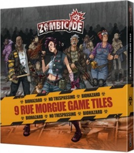 Zombicide Temporada 3: Rue Morgue Game Tiles