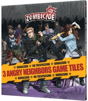 Zombicide: Angry Neighbors Game Tiles