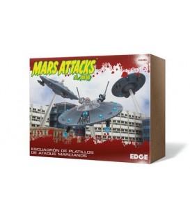 Mars Attacks: Escuadrón de Platillos de Ataque Marcianos