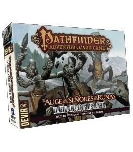 Pathfinder: El Auge de los Señores de las Runas (Mazo 4. La Fortaleza de los Gigantes de Piedra)