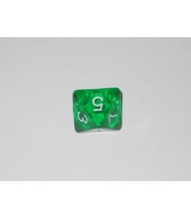 Dado Gema 8 Caras - Verde