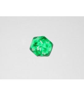 Dado Gema 20 Caras - Verde