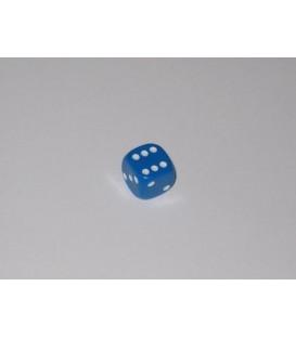 Dado Opaco 6 Caras - Azul (10mm)