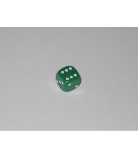Dado Opaco 6 Caras - Verde (10mm)