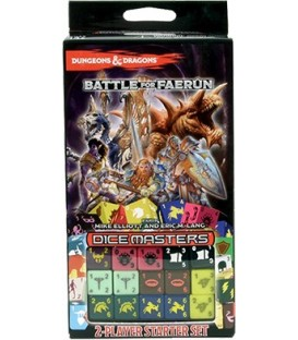 Dice Masters: Dungeons & Dragons Battle For Faerûn - Set de Inicio (Inglés)