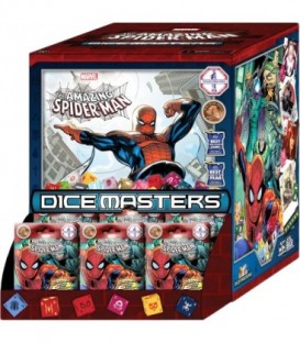Dice Masters: The Amazing Spider-Man - Display de 90 Sobres (Inglés)