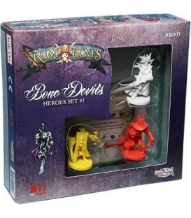 Rum & Bones: Bone Devils Heroes Set 1