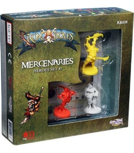 Rum & Bones: Mercenary Heroes Set 1