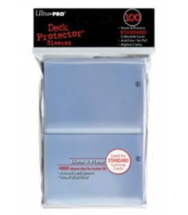 100 Solid Deck Protector Ultra Pro - Transparente 66x91 mm.