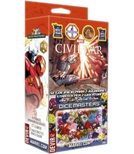 Dice Masters: Civil War - Set de Inicio (Castellano/Italiano) + Promo