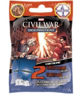 Dice Masters: Civil War - Sobre (Castellano/Italiano)