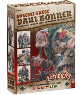 Zombicide Black Plague: Special Guest Paul Bonner