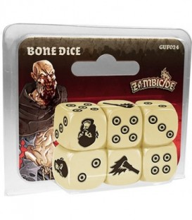 Zombicide Black Plague: Bone Dice