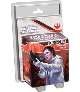 Imperial Assault: Princesa Leia (Comandante Rebelde)