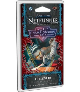 Android Netrunner: Valencia / Mazo Campeonato Mundial 2015